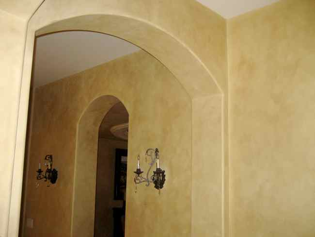 How to create a faux wall interior design ideas for Faux wall painting